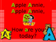 Apple Annie Letter A