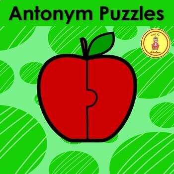 Antonym Apple Puzzles