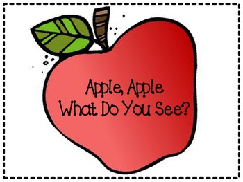 Apple, Apple what Do you See?