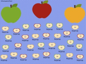 Apple Attendance for the SMARTBoard