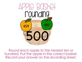 Apple Basket Rounding