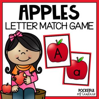 Apple Beginning Sounds Match