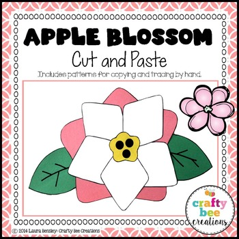 Apple Blossom Cut and Paste