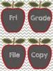 Apple Chalkboard Labels