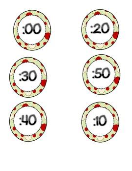 Apple Clock labels