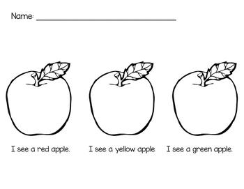 Apple Color Activity