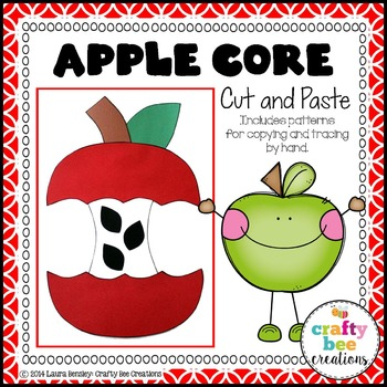 Apple Core Cut and Paste