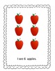 Apple Counting Booklets