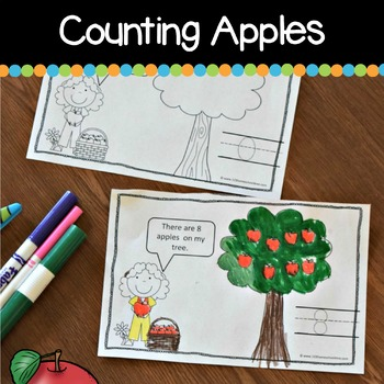 Apple Counting Mini Book