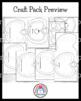 Apple Craft Pack: Book, Counting, Poem, Basket