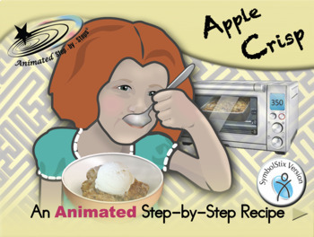 Apple Crisp - Animated Step-by-Step Recipe SymbolStix