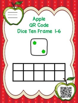 Apple Dice Qr Code Ten Frame 1-6