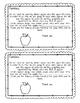 Apple Donations Letter
