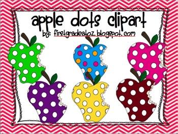Apple Dots Clipart