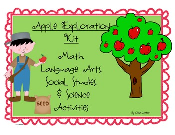 Apple Exploration & Johnny Appleseed Activities