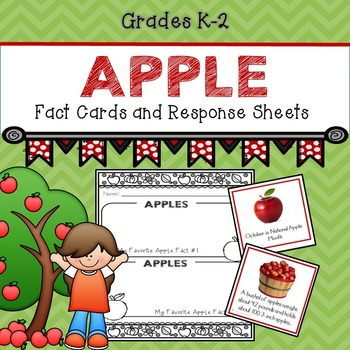 Apple Fact Cards