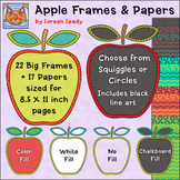 Apple Frames and Papers
