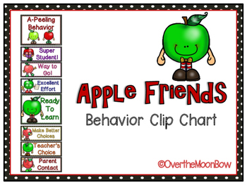 Apple Friends Behavior Clip Chart