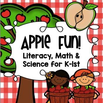 Apple Fun! {Common Core Aligned Math, Literacy & Science U