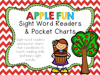 Apple Fun - Pocket Charts Center and Sight Word Readers