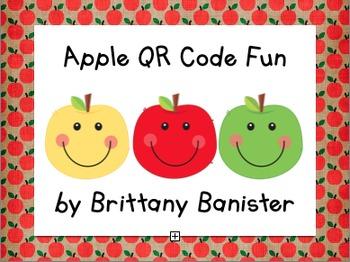 Apple Fun QR Code Activities