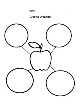 Apple Graphic Organizer/Bubble Map