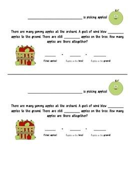 Apple Graphing Craftivity