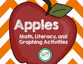 Apple Activities (Graphing, Math, and Literacy Activities)