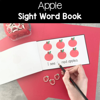 """Apple """"I See"""" Counting Book"""