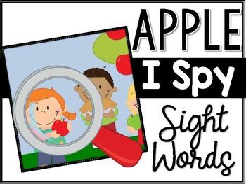 Apple I Spy Sight Words