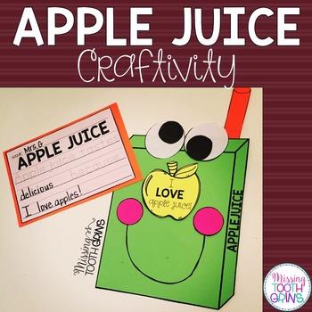 Apple Juice Craft