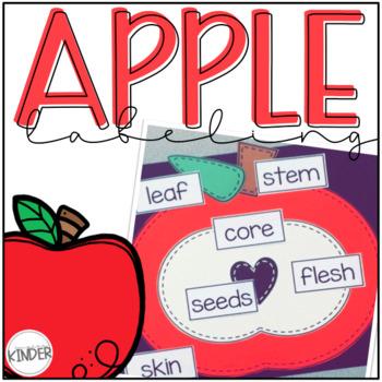Apple Labeling Craftivity