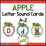 Apple Letter Sound Cards A-Z