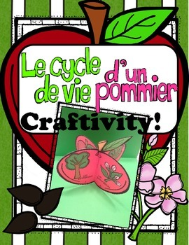 Apple Life Cycle Craftivity ~ French ~ Le cycle de vie d'u