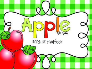 Apple Life Cycle {Craftivity and Printables in English and