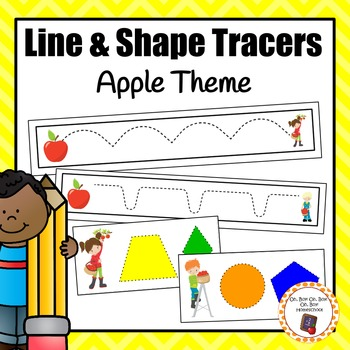 Apple Line & Shape Tracers