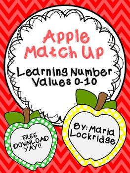 Apple Match Up: Learning Number Values 0-10
