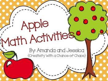 Apple Math Activities