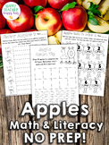 Apple Math and Literacy Fun!