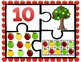 Apple Number Puzzles 0-10 ~Color & B&W~  Great Center!  CC