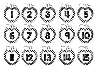 Apple Calendar Number Tags