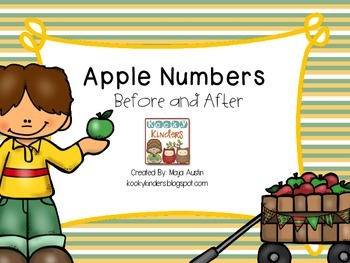 Apple Numbers Before and After