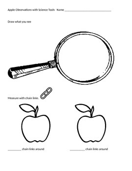 Apple Observations w/ Science Tools