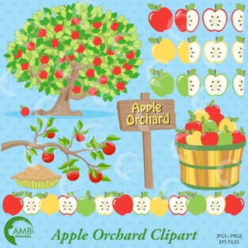 Clipart Apple Orchard clip art, apple clipart, Fall apple