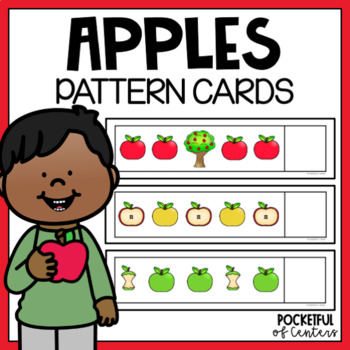Apple Pattern Cards {AB, ABC, ABB, AAB}