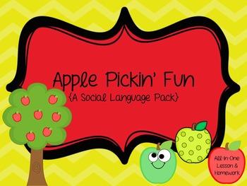 Apple Pickin' Fun: A Social Language Pack