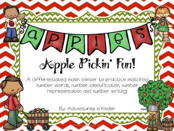 Apple Pickin Fun Math Center