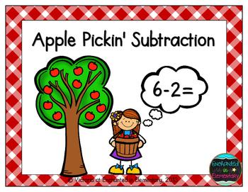 Apple Pickin' Subtraction! Subtraction Facts Practice {Freebie!}