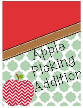 Apple Picking Addition {Cut & Paste}