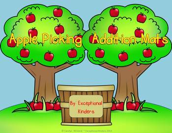 Addition Mats - Decomposing Numbers - Apple Picking